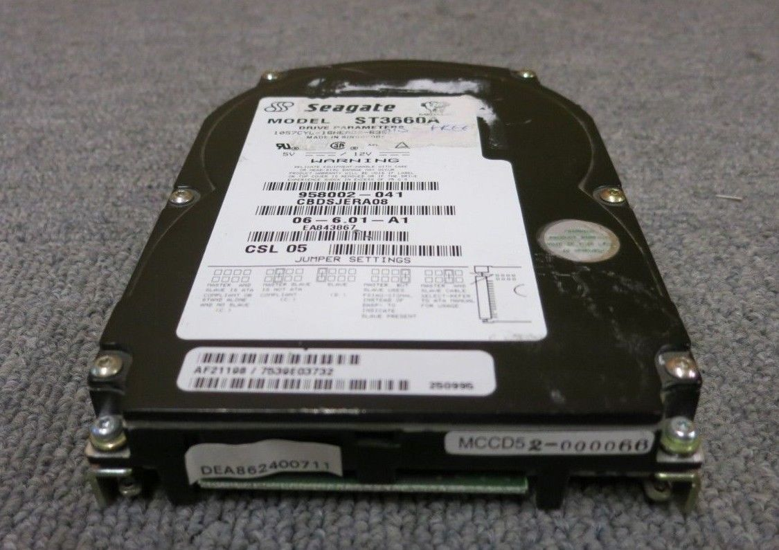 Seagate ST3660A Medalist 545XE 545MB 3800RPM 120KB
